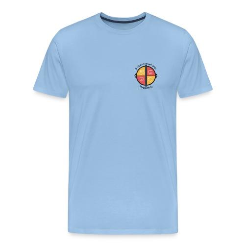 SWK Magdeburg schwarz - Männer Premium T-Shirt