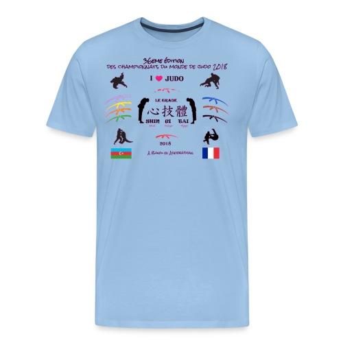 36eme edition judo championnat monde 2018 france - T-shirt Premium Homme