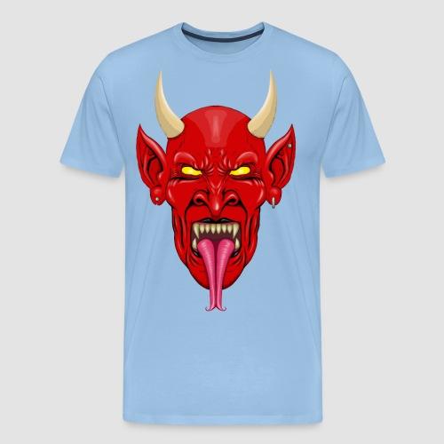 Devils Face Satans Army - Men's Premium T-Shirt