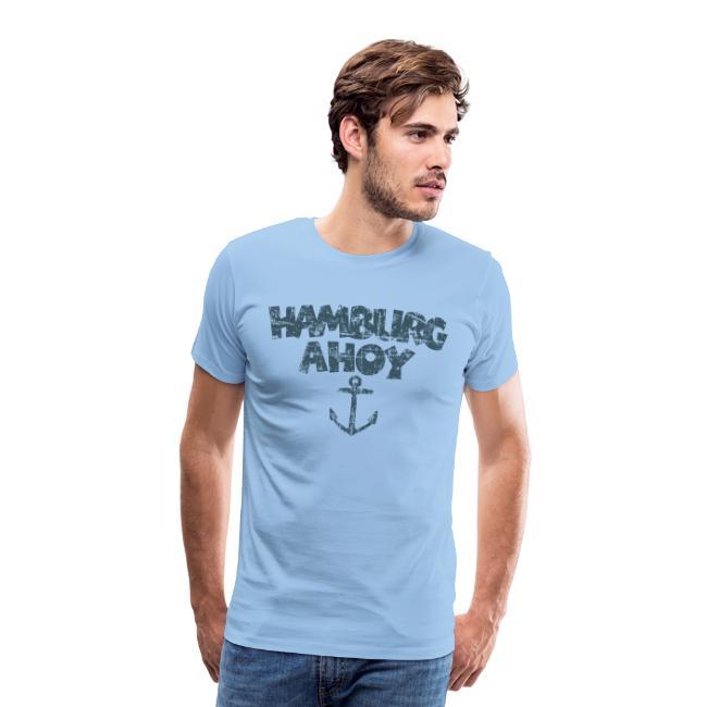 Hamburg Ahoy Anker (Vintage/Blau)