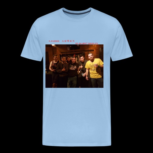 BildMicha png - Männer Premium T-Shirt