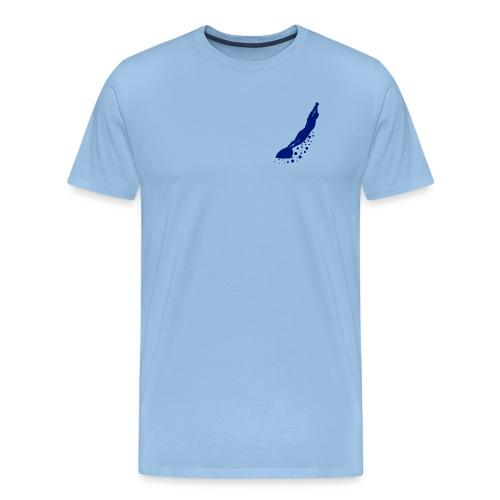 nageur marine transparent gif - T-shirt Premium Homme