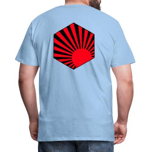 Rising Sun Medal - T-shirt Premium Homme
