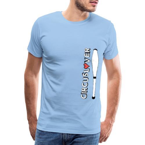 CIRCUSLOVER -JUGGLING CLUBS - CIRCUS JUGGLER - Maglietta Premium da uomo