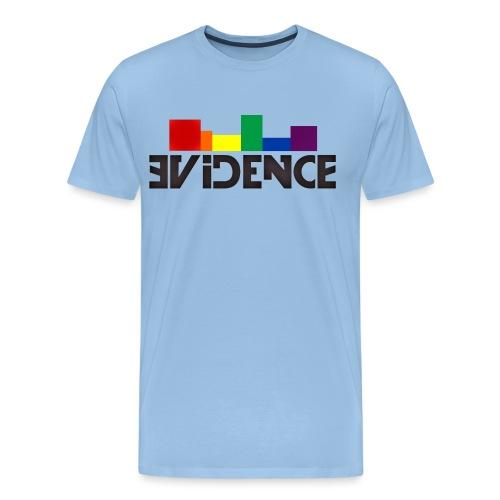 NEW EVIDENCE RAINBOW blk - T-shirt Premium Homme