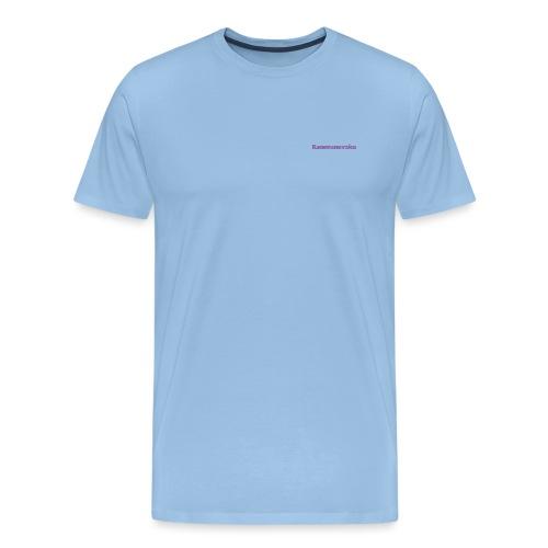 3D K Schriftzug - Männer Premium T-Shirt