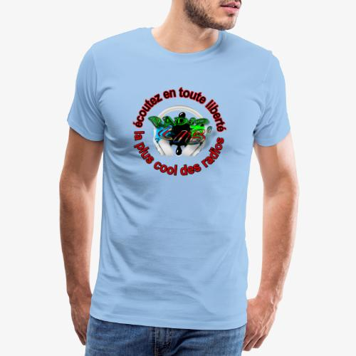 logo maillot Radio Lib' - T-shirt Premium Homme