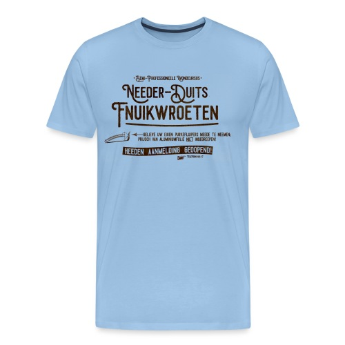 Fnuikwroeten - Mannen Premium T-shirt