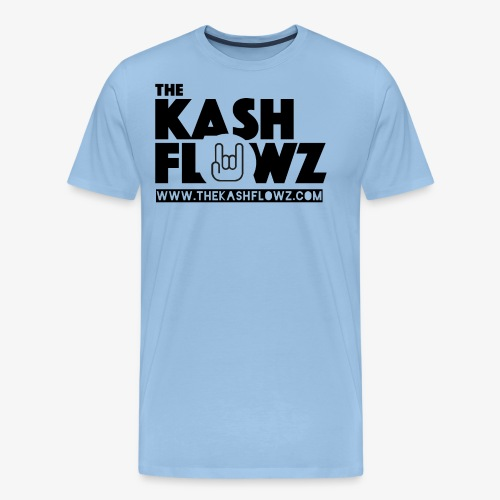 The Kash Flowz Official Web Site Black - T-shirt Premium Homme