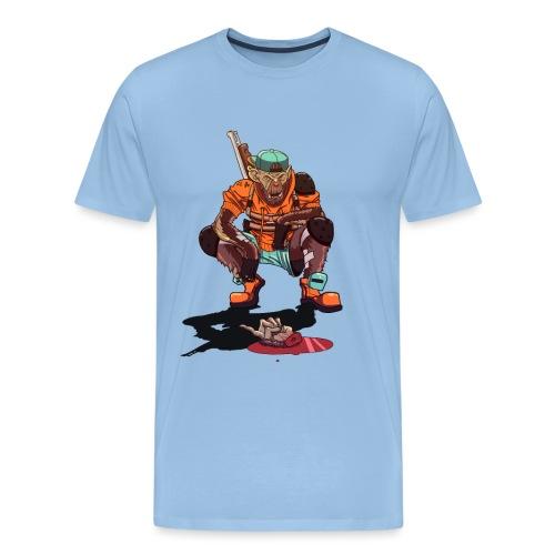 Singe post apocalyptique - T-shirt Premium Homme