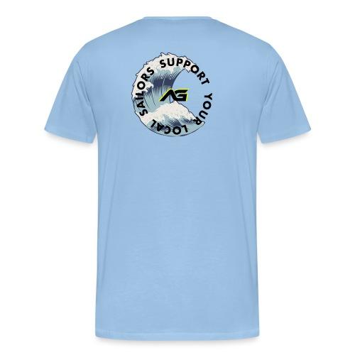•Support your Local Sailor - Maglietta Premium da uomo