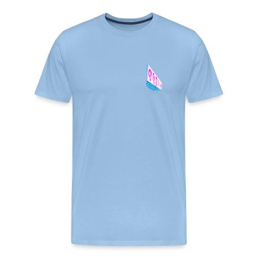 Korean - Premium-T-shirt herr