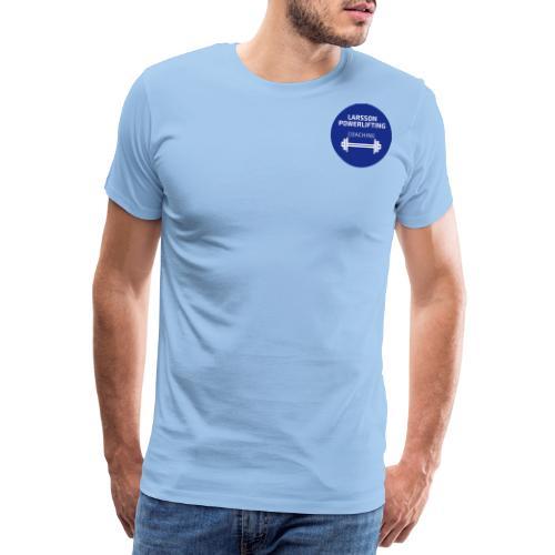 LarssonPowerliftingLogo - Premium-T-shirt herr