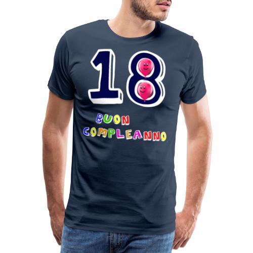 18 BUON compleanno - Maglietta Premium da uomo