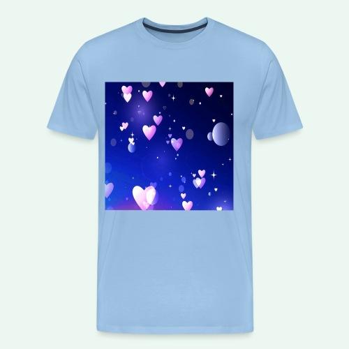 Nachthimmel quad - Anziehend anders US - Männer Premium T-Shirt