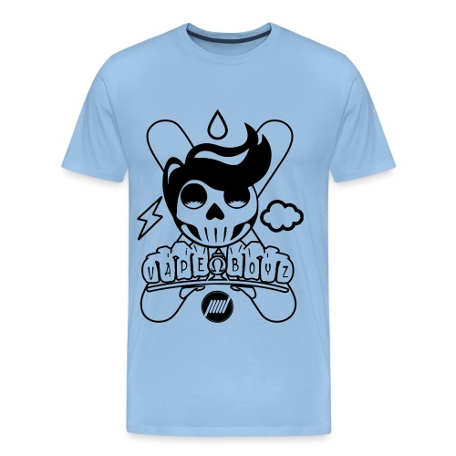 Sugar Skull Vape Boyz - Maglietta Premium da uomo