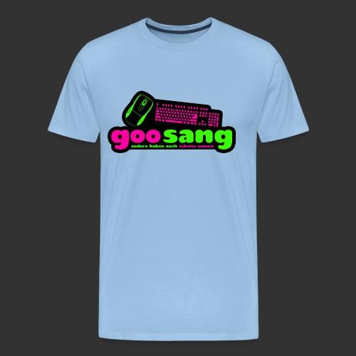goosang logo - Männer Premium T-Shirt