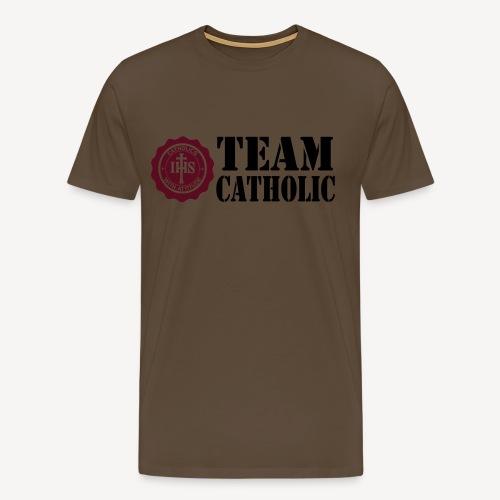 TEAM CATHOLIC - Men's Premium T-Shirt