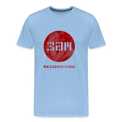 3am Rude 3 red cream transparent png - Men's Premium T-Shirt