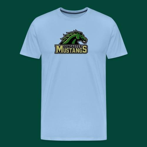 mustangs logo 2019v3 - Men's Premium T-Shirt