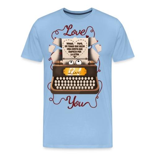 San Valentín - Camiseta premium hombre