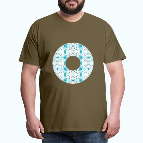 Hippie flowers donut - Men's Premium T-Shirt