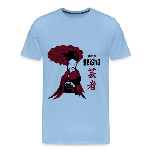 geisha2 - Männer Premium T-Shirt