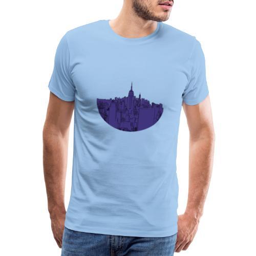 New York by Nights - T-shirt Premium Homme