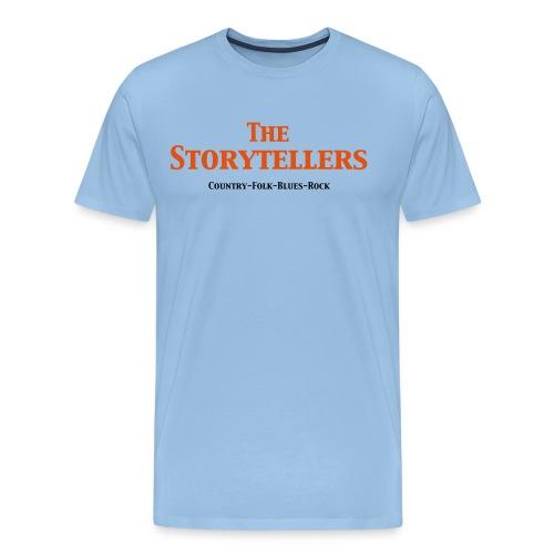 Storytellers Schriftzug - Männer Premium T-Shirt