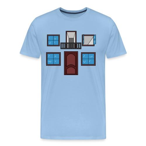 Window of the heart - Camiseta premium hombre