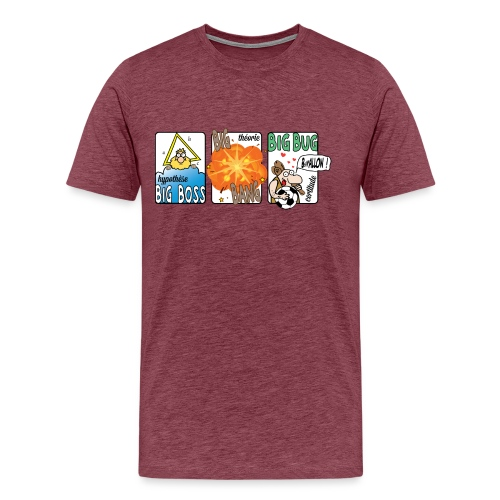 big boss big bang big bug - T-shirt Premium Homme