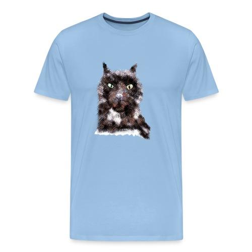 Cat - IF Sabrina Imstepf Design - Männer Premium T-Shirt