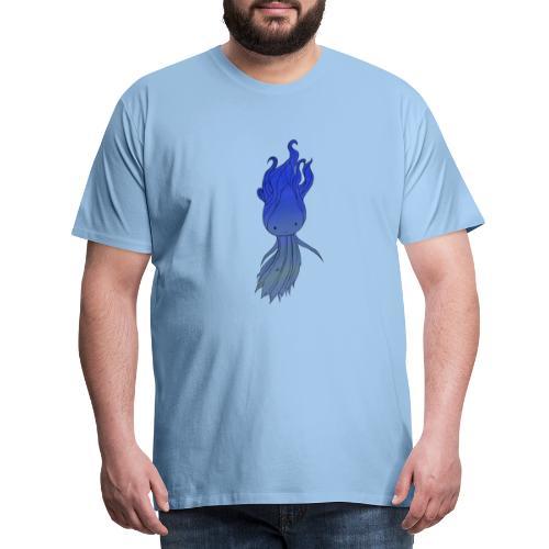 Blue Nymph - Herre premium T-shirt