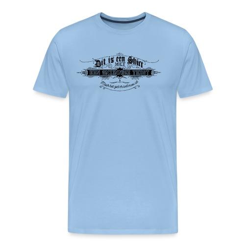 Dit is een shirt - Mannen Premium T-shirt