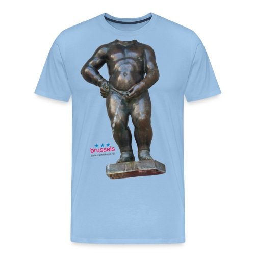 mannekenpis Real Big ♀♂ | 撒尿小童 - T-shirt Premium Homme