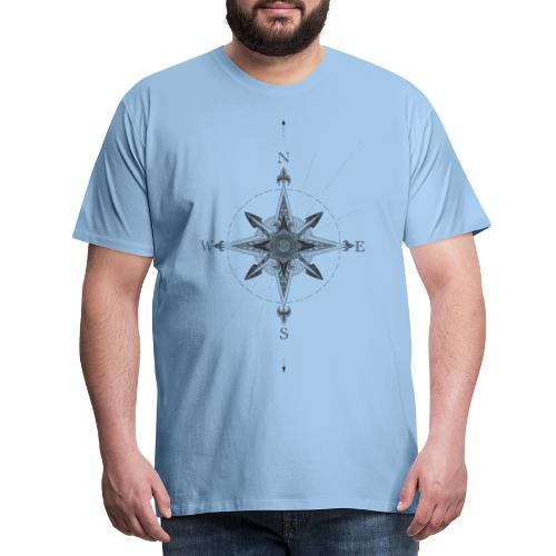 Geometrische Kompass - Männer Premium T-Shirt