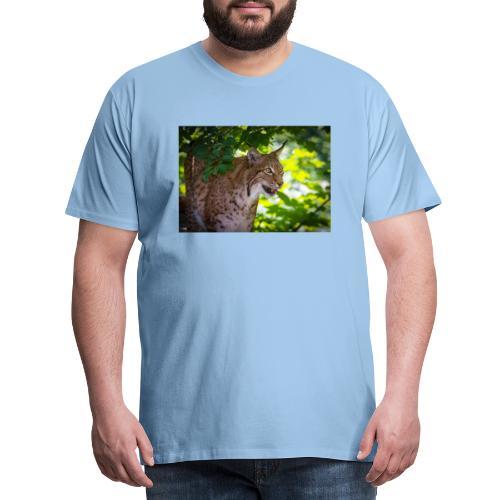 Luchs - Männer Premium T-Shirt