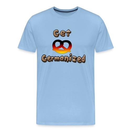 Get Germanized Pretzel - Men's Premium T-Shirt