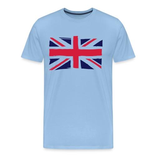 vlag engeland - Mannen Premium T-shirt