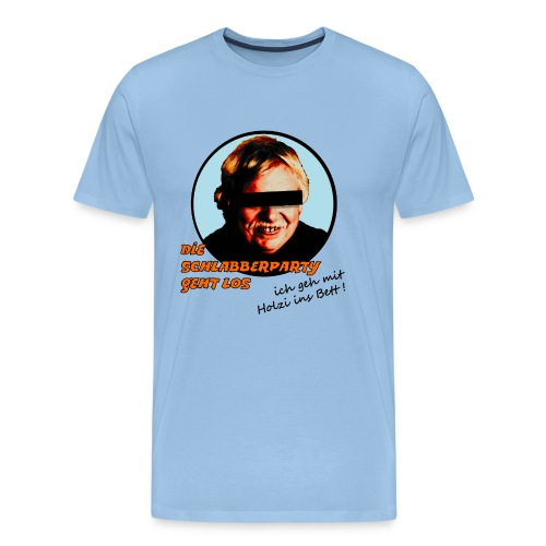 schlabberparty bitmap - Männer Premium T-Shirt