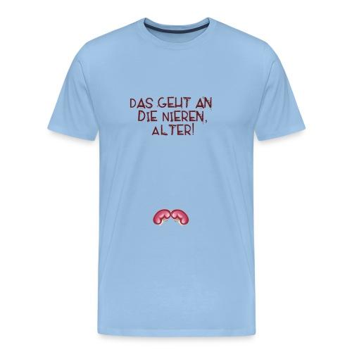 nieren alter - Männer Premium T-Shirt