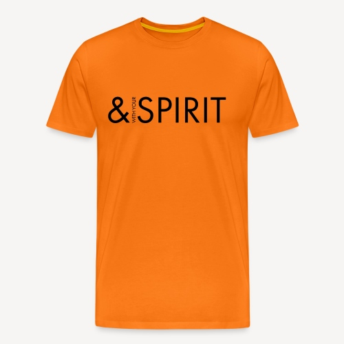 AND WITH YOUR SPIRIT - Men's Premium T-Shirt