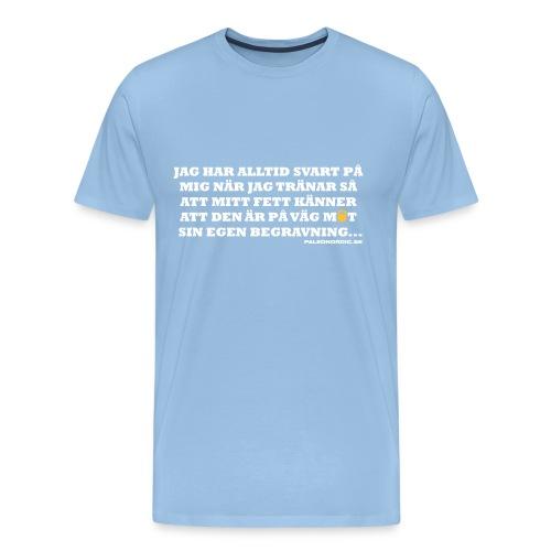 begravning - Premium-T-shirt herr