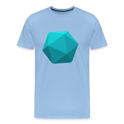 Blue d20 - Men's Premium T-Shirt