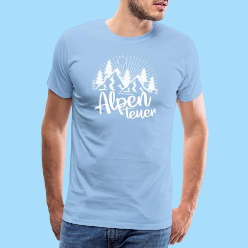 Alpenteuer - Männer Premium T-Shirt