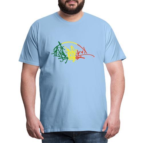 ikon vjr tag - T-shirt Premium Homme
