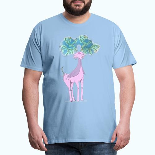 Multi Horn No Unicorn - Men's Premium T-Shirt
