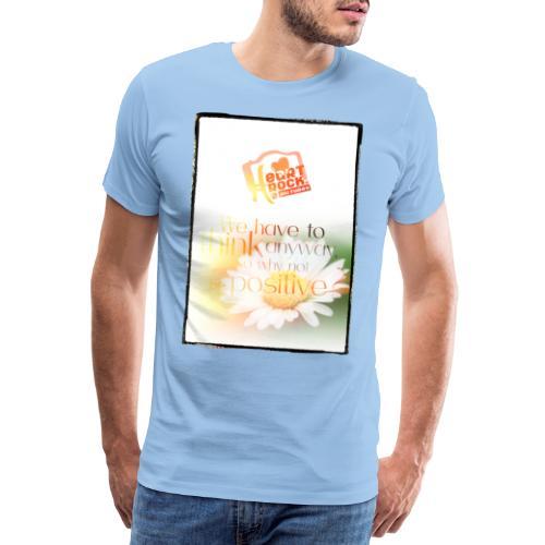 positiv - Männer Premium T-Shirt