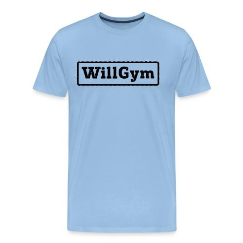 WILLGYM - Männer Premium T-Shirt
