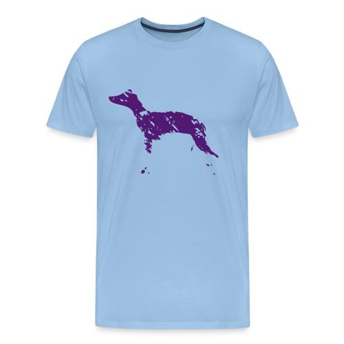 whippet abstrait - T-shirt Premium Homme